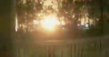 شاهد.. انفجار فى مبنى بمدينة هيوستون الأمريكية