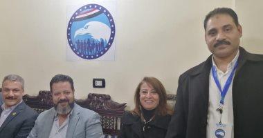 """صور.. """"مستقبل وطن"""" يفتتح مقر شياخته الجديد بدار السلام في حضور أعضاء الحزب"""