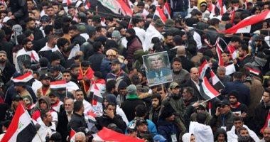 إصابة 14 شخصا بالاختناق جراء تفريق تظاهرة فى بغداد