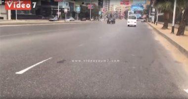 فيديو.. سيولة مرورية بكوبرى غمرة والمهندسين