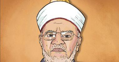 كاريكاتير صحيفة فلسطينية.. تضامن مع خطيب المسجد الأقصى بعد اجراءات الاحتلال