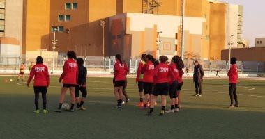 """صور.. منتخب """"النسائية"""" يخوض معسكرا مغلقا استعدادا لمباراة العودة أمام المغرب"""