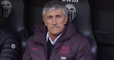 برشلونة يهدد كيكى سيتين بالإقالة