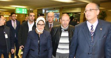 وزيرة الصحة: إجراءات مشددة للتصدي لفيروس كورونا بالمطارات والموانى