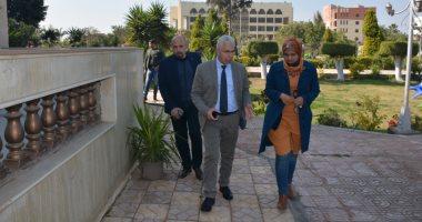نائب رئيس جامعة طنطا: استمرار تطوير البنية التحتية للكليات والمنشآت