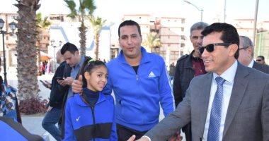 أشرف صبحى: النشاط الرياضى مازال معلقا ومواعيد الأندية تخص المستوى الاجتماعى