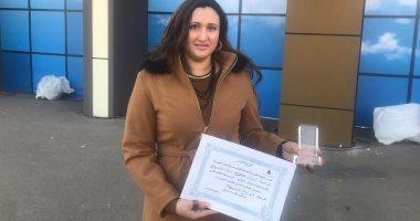 """الفائزة بجائزة """"أفضل كتاب أول بمعرض القاهرة"""": التكريم تحفيز على مواصلة الكتابة"""