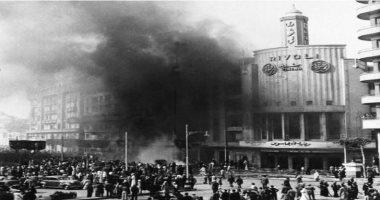 من حرق قلب القاهرة؟.. النار تشتعل فى 700 منشأة فى وسط البلد عام 1952
