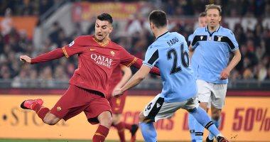 """روما ضد لاتسيو.. التعادل الإيجابي يحسم ديربي العاصمة الإيطالية """"فيديو"""""""