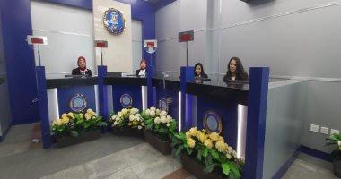 صور.. افتتاح موقع جديد للأحوال المدنية بمطار القاهرة بمناسبة عيد الشرطة