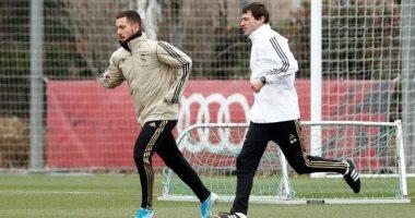استمرار غياب هازارد عن ريال مدريد فى الديربي.. ويقترب من مواجهة مانشستر سيتي