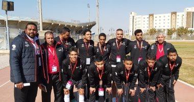 منتخب الكرة الخماسية يفوز على روندا وسيشل ويصعد لنهائي الأولمبياد الخاص