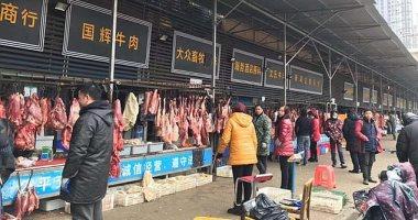 أول صور لسوق ووهان للحيوانات البرية بؤرة انتشار فيروس كورونا فى الصين