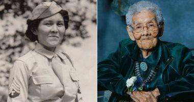 """صوفى يازى.. وفاة أقدم محاربات الحرب العالمية الثانية عن عمر 105 أعوام """"صور"""""""