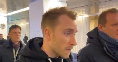 إريكسن يصل ميلانو للانضمام إلى الإنتر.. فيديو
