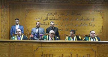 """غدا.. """"الجنايات"""" تواصل إعادة محاكمة 6 متهمين بـ""""أحداث مجلس الوزراء"""""""
