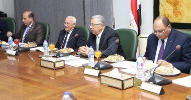 ملفات تقنين الأراضى ودعم المزارعين تتصدر لقاء وزير الزراعة بمحافظ بورسعيد (صور)