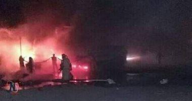 فيديو وصور.. لحظة سقوط طائرة عسكرية فى الجزائر.. وتبون يعزى أسرتى الطيارين