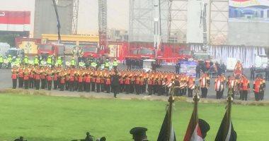 فيديو وصور.. سيمفونية وطنية..عروض لموسيقى الشرطة بمناسبة عيدها 68