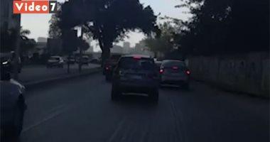"""شاهد.. حركة السيارات بكورنيش النيل """"شبرا – التحرير"""""""
