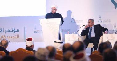 المفتى: تجديد الخطاب الدينى والفكرى من المهام الأصيلة لمؤسساتنا الدينية