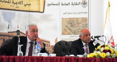 سامح عاشور يطلق اسم على عبد العال على أول قاعة تدريس بأكاديمية المحاماة