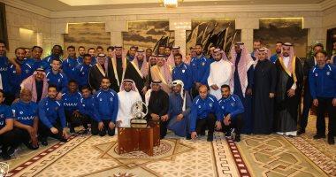 أمير الرياض يستقبل نجوم الهلال احتفالا بلقب دورى أبطال آسيا 2019