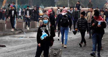 مواجهات بين الشرطة العراقية ومتظاهرين فى بغداد