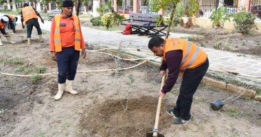 """صور.. زراعة أشجار مثمرة ضمن مبادرة """"اتحضر للأخضر"""" ببورسعيد"""