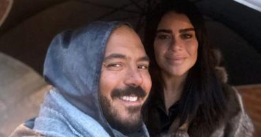 دبحتله القطة من أول يوم.. زوجة محمود العسيلي فى أحدث ظهور لها