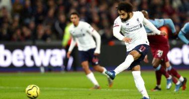 """وست هام ضد ليفربول.. محمد صلاح يتخطى ماني ويتقدم للريدز في الشوط الأول """"فيديو"""""""