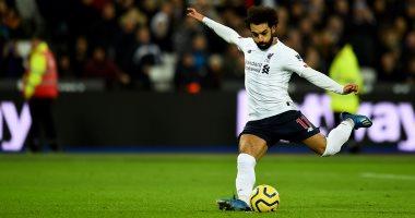 """وست هام ضد ليفربول.. محمد صلاح يسجل ويصنع  فى فوز جديد للريدز """"فيديو"""""""