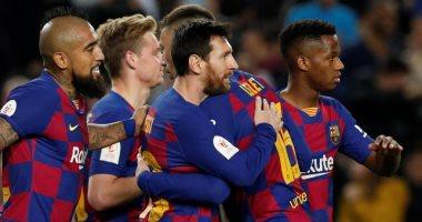 برشلونة لا يعرف الهزيمة ضد ليفانتى فى الكامب نو قبل مباراة اليوم