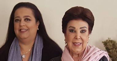 رجاء الجداوى تحتفل بعيد ميلاد ابنتها أميرة: مستشارتى الأولى