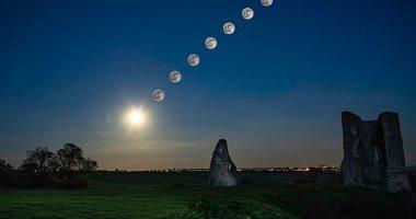 شاهد صور جديدة للقمر ومجرة درب التبانة من حديقة فلكى أمريكى