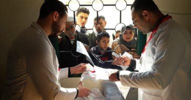 الكشف الطبى على 2116 مواطن بالقافلة الطبية العلاجية بقرية قصاصين الشرق بالشرقية