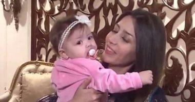 المطربة جنات تروى متاعب حملها في ابنتها وتكشف سبب نقصان وزنها