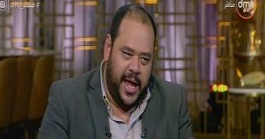 """محمد ممدوح يلعب """"لعبة الأفلام"""" مع رامى رضوان بـ """"مساء dmc"""".. فيديو"""