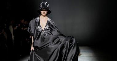اطلالات مميزة خلال انطلاق أسبوع الموضة فى العاصمة الأوكرانية كييف