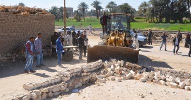 محافـظ المنوفية: إزالة 573 حالة تعدى على الأراضى الزراعية وأملاك الدولة