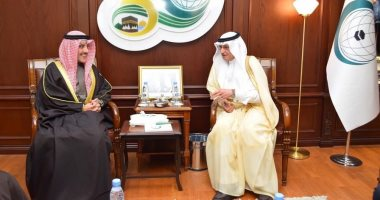 أمين منظمة التعاون الإسلامى يستقبل وزير الخارجية الكويتى اليوم