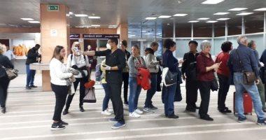 """إجراءات وقائية وفحص الرحلات بمطار الأقصر الدولى لمنع تسلل """"كورونا"""".. صور"""