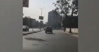 سيولة مرورية بطريق كورنيش النيل المتجه إلى التحرير.. فيديو