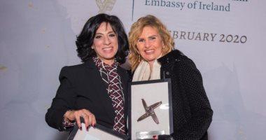 سفارة إيرلندا فى القاهرة تكرم وزيرة التخطيط ويسرا