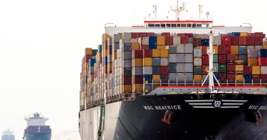 """""""قناة السويس"""": عبور 1645 سفينة بحمولات 105.7 مليون طن خلال شهر"""