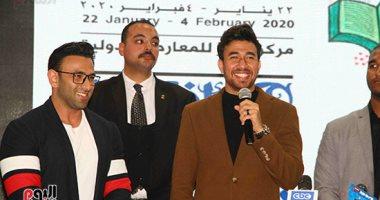 محمود تريزيجيه يتألق فى معرض القاهرة الدولى للكتاب 2020