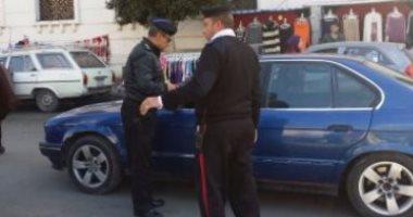 تحرير 571 مخالفة مرورية متنوعة و4 حالات إيجابية لتعاطى المخدرات في أسوان