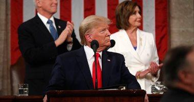 ترامب فى خطاب الاتحاد: ننسق مع الصين لمكافحة فيروس كورونا