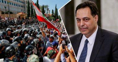 الجيش والشرطة فى لبنان يناشدان المتظاهرين الحفاظ على سلمية الاحتجاجات