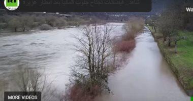 للطبيعة أحكام.. فيضانات وهطول أمطار غزيرة جنوب ألمانيا